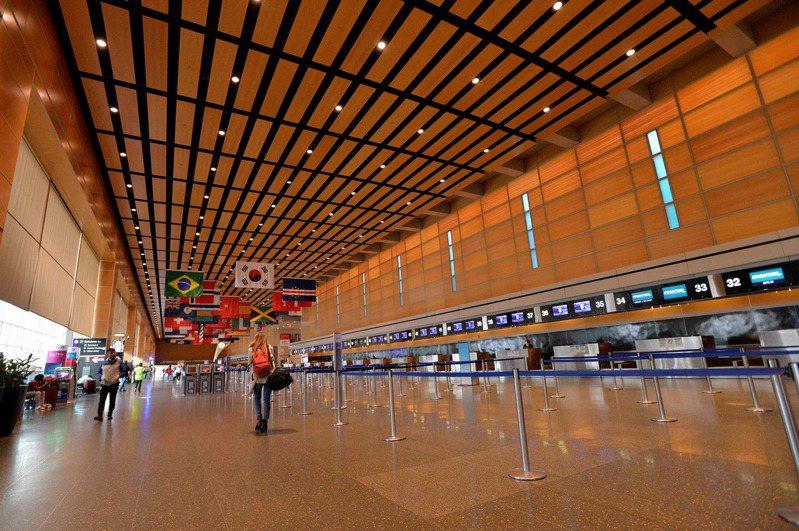 美國波士頓洛根國際機場。(法新社)