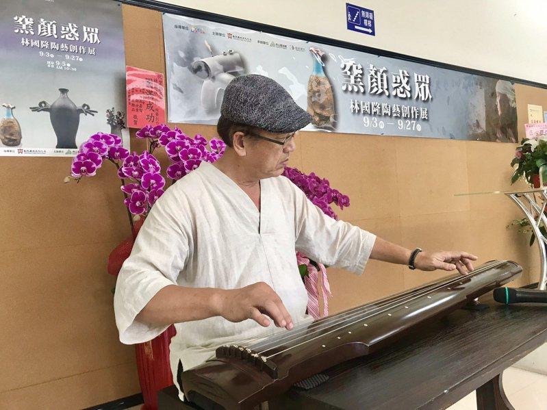 林國隆為水里蛇窯第三代窯主,為在地水里及社區發展奉獻己力、更為台灣工藝的發展奮力創見。記者宋健生/攝影