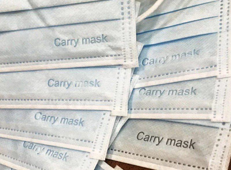 加利科技有限公司以陸製非醫用口罩混充進入實名制通路,重創國家隊形象。 圖/聯合報系資料照片