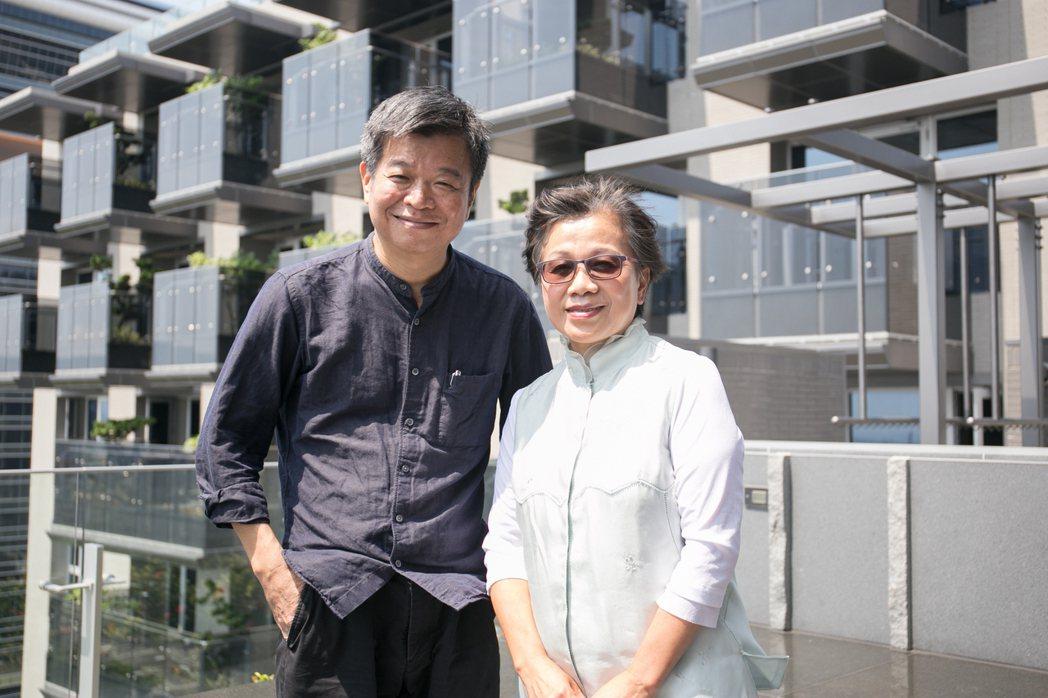 由於高永建設總經理徐淑美(右)和設計涵碧樓的知名建築師戴育澤兩人對細節的堅持,「...