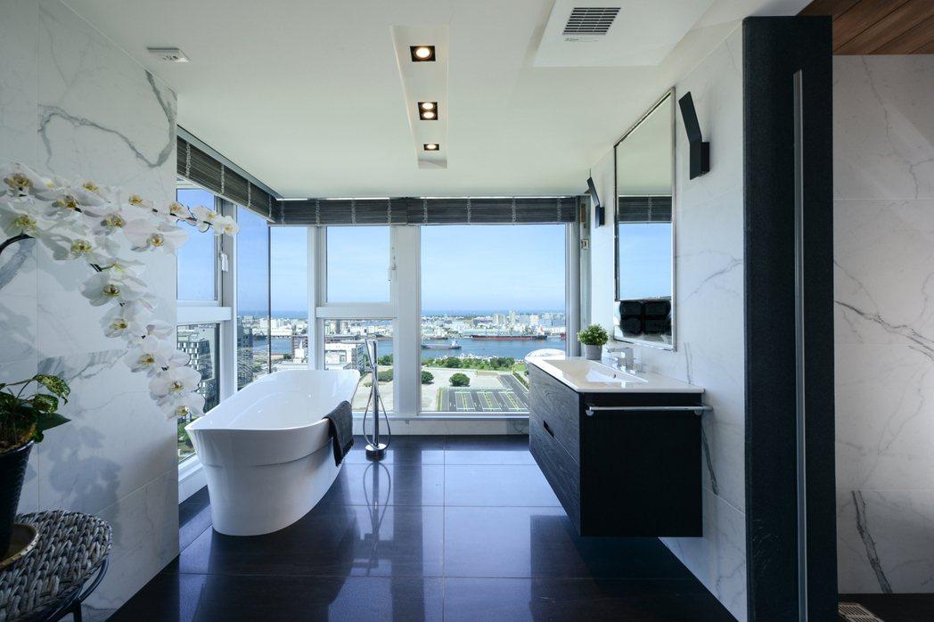 多享受的衛浴空間。 圖片提供/高永建設