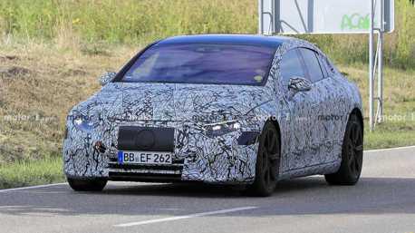 全新純電Mercedes-Benz EQS與S-Class是雙生車?間諜照證實他們真的不一樣!