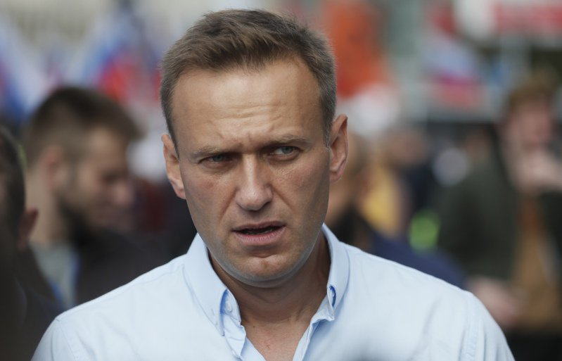 圖為俄羅斯反對派領袖納瓦尼。 歐新社