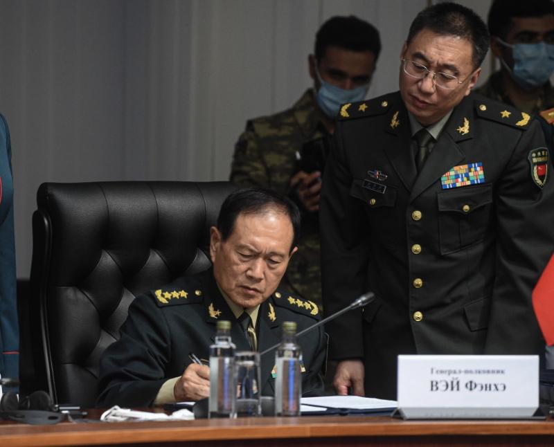 中國大陸國務委員兼國防部長魏鳳和。(環球網)