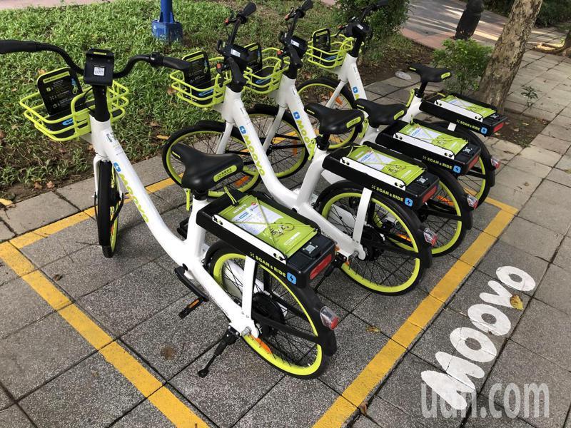 新北3條自行車通勤綠廊將佈設Moovo電動輔助自行車。記者王敏旭/攝影
