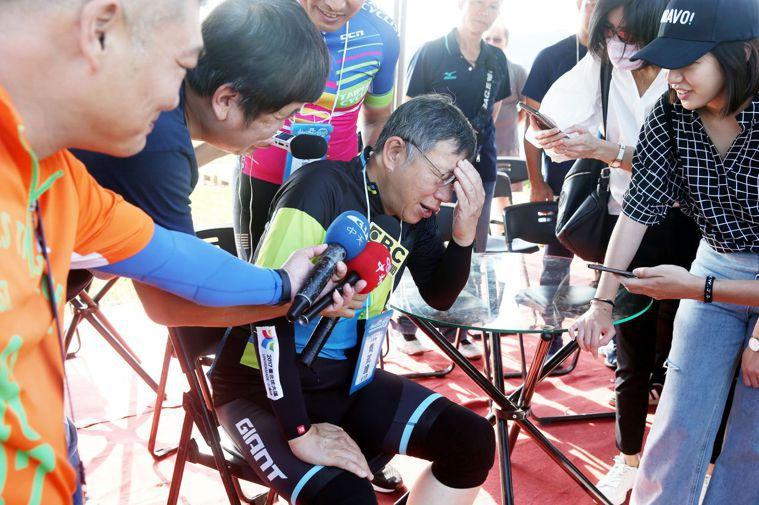 台北市長柯文哲昨表示,美豬和台灣豬價格一公斤差約十五元,「最後誰會買美豬?是窮人...