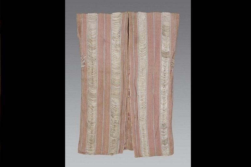 泰雅族貝珠衣,台北市文獻會收藏。 圖/台北市文獻會