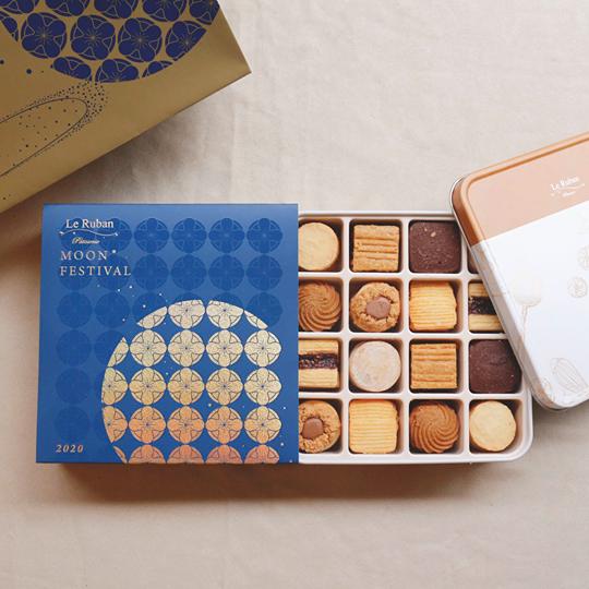經典鐵盒餅乾禮盒。 圖/取自法朋烘焙甜點坊粉絲專頁