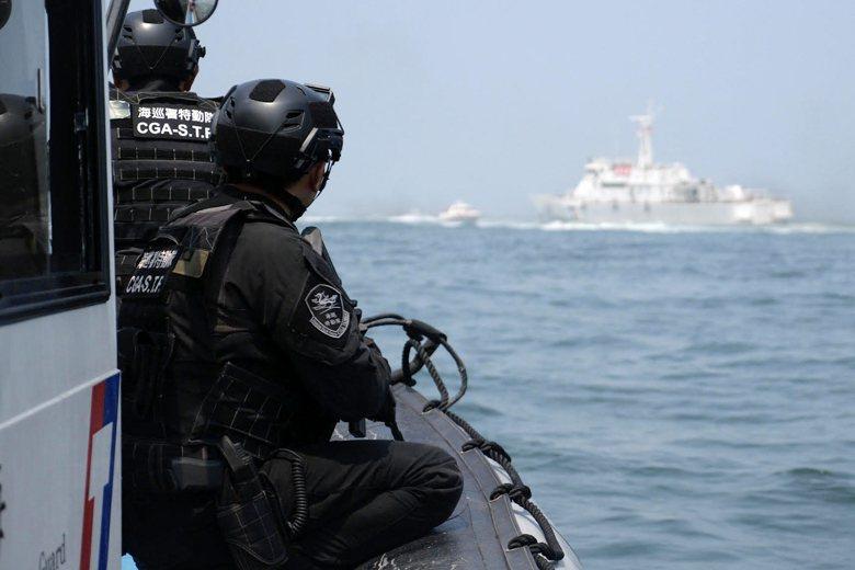目前三大特勤單位是各自私下演練,似乎不常協同演習。 圖/海巡署