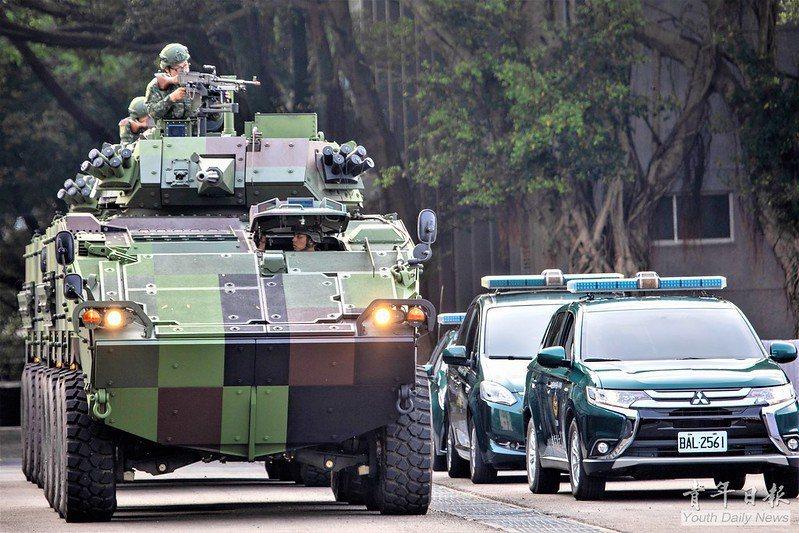 本年度漢光演習的「重要目標反特攻演練」,由隸屬軍方的「憲兵特種勤務隊」、隸屬警政署的「維安特勤隊」,以及隸屬海巡署的「海巡特勤隊」共同參與。 圖/青年日報