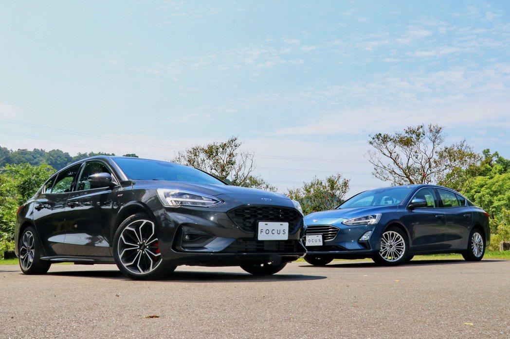 Ford Focus新加入四門獨立後懸吊車型。 記者陳威任/攝影