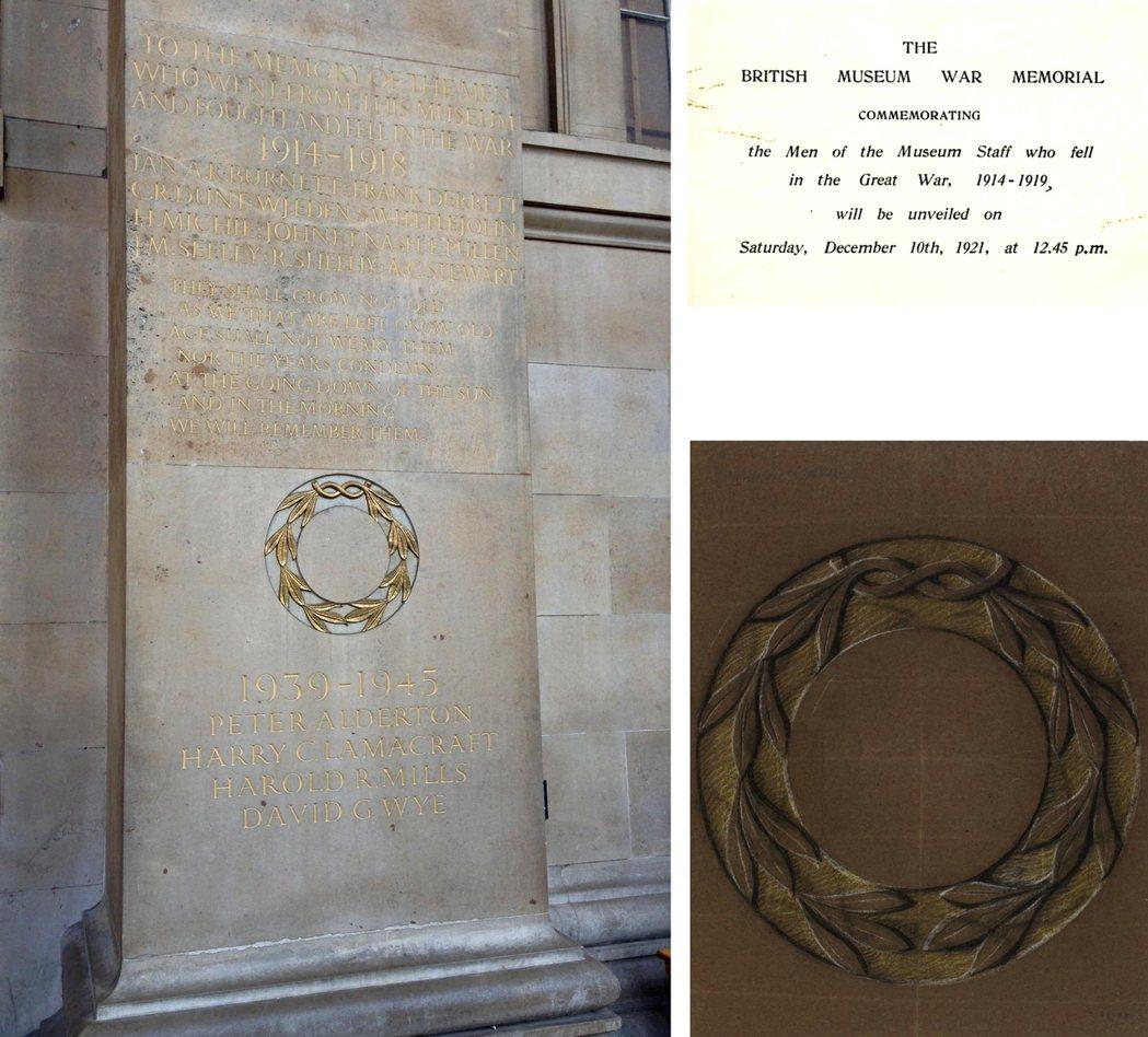 每年前來參觀大英博物館的人有好幾百萬,大部分是從館前的台階進入主要入口。他們經過...