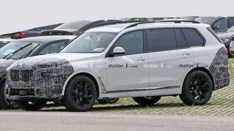 小改款BMW X7路試現蹤 與新世代7 Series擁有相同元素