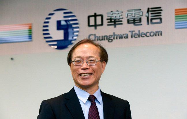 中華電信董事長謝繼茂。記者鄭超文╱攝影