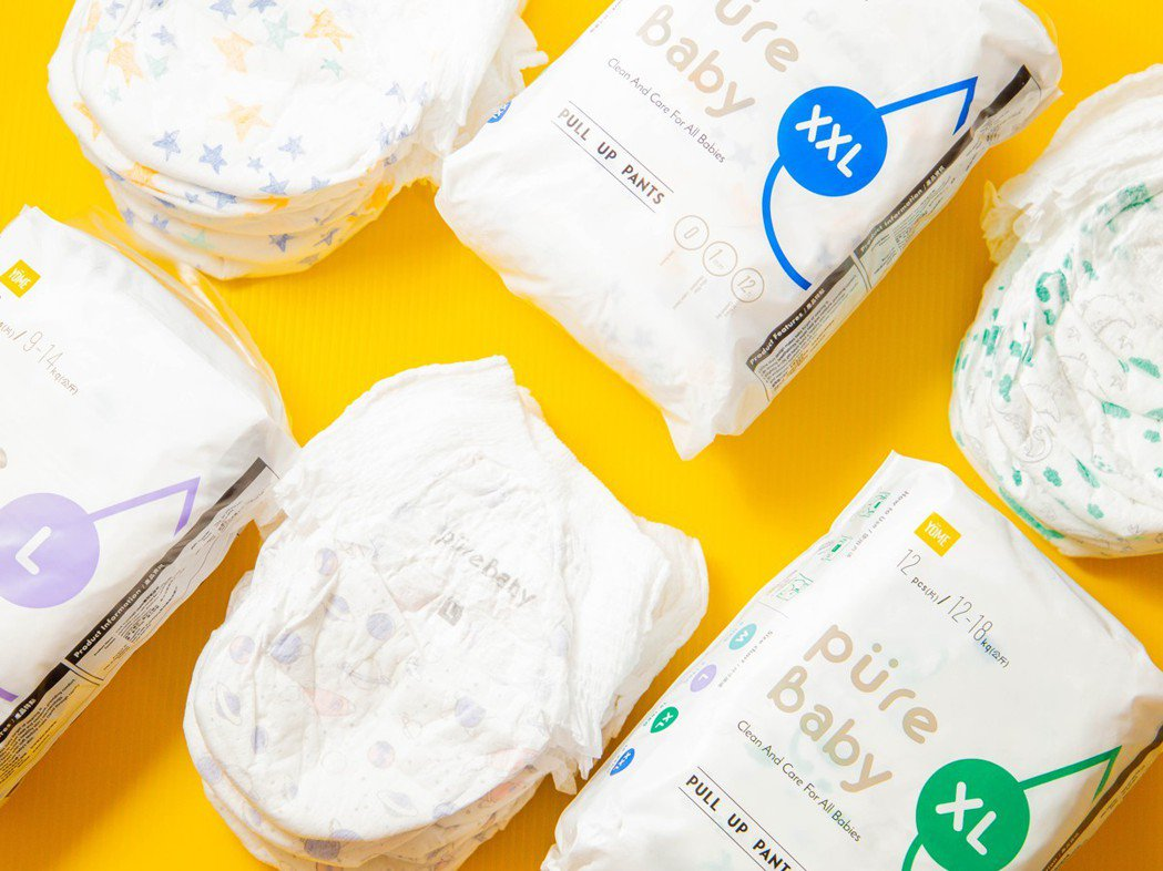 PureBaby,是YOME 優米生活的主力母嬰商品系列,2020年夏季同步於台...