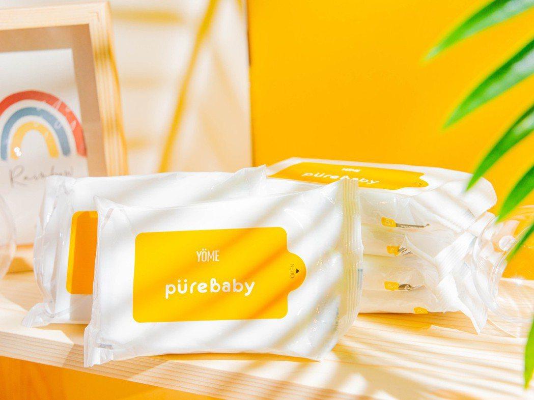 PureBaby抗菌濕巾,選用經過七次淨化的純水作為基底,如初生肌膚般細緻潔淨。...