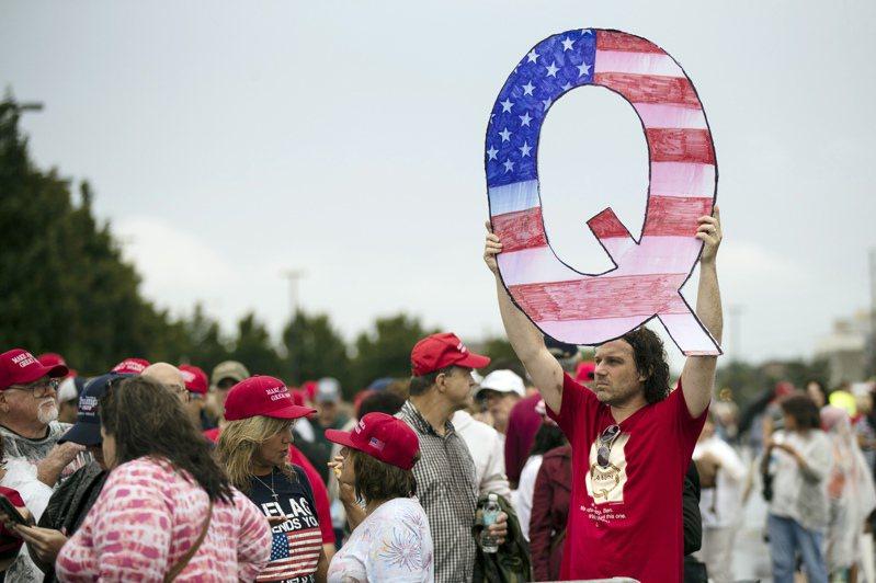 因為有多位深信不疑的人參加議會選舉,陰謀論團體「匿名者Q」逐漸成為主流政治團體。美聯社