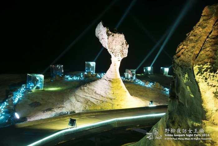 夜訪女王。 圖/IG, majiwang