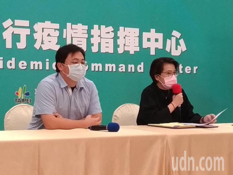 台北市副市長黃珊珊表示,台北市有一處地址已收住多達十多次居家檢疫者。記者林麗玉/攝影