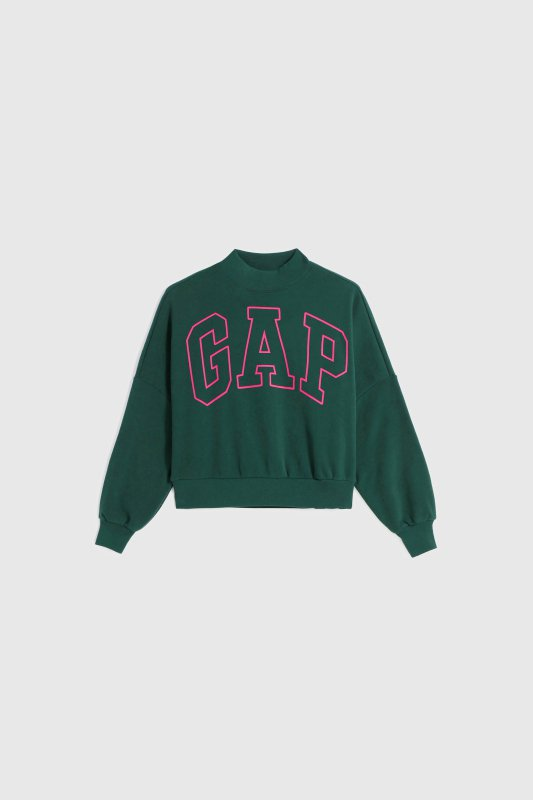 GAP秋季女裝Logo上衣999元。圖/GAP提供