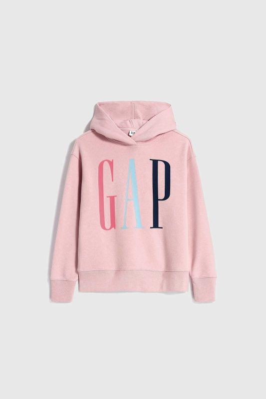 GAP秋季女裝Logo連帽上衣1,499元。圖/GAP提供