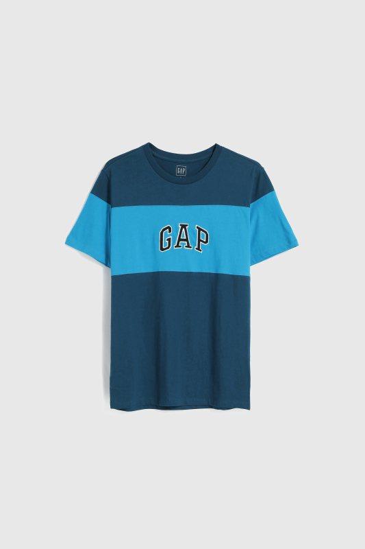 GAP秋季男裝撞色T恤699元。圖/GAP提供