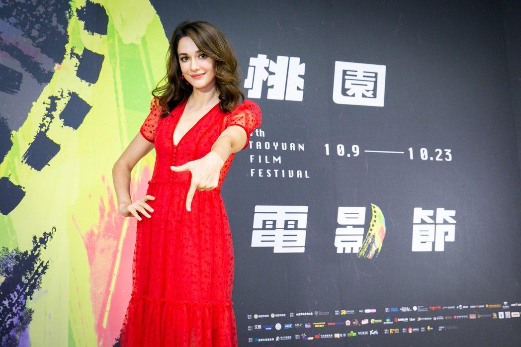 瑞莎擔任第7屆桃園電影節大使。圖/桃園電影節提供