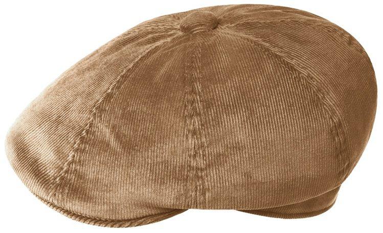 Kangol HAWKER燈芯絨鴨舌帽2,680元。圖/Kangol提供