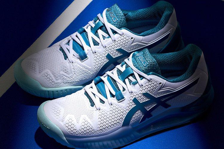 因應網球比賽全面需求,ASICS推出多元鞋款。圖/ASICS提供