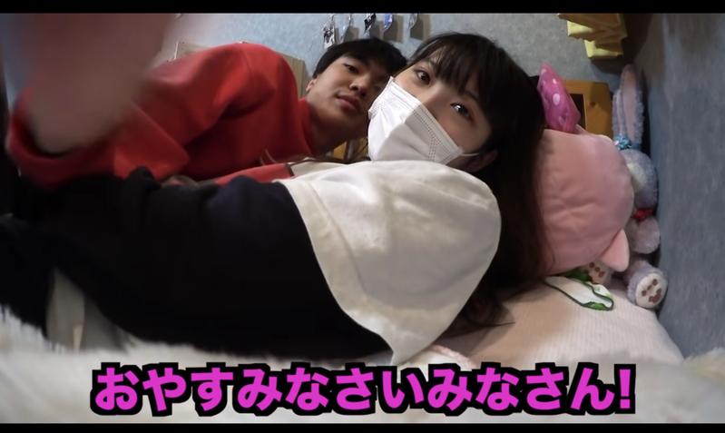 日本YouTuber與親生妹妹互動親密,讓網友看了好尷尬。 圖擷自YouTube