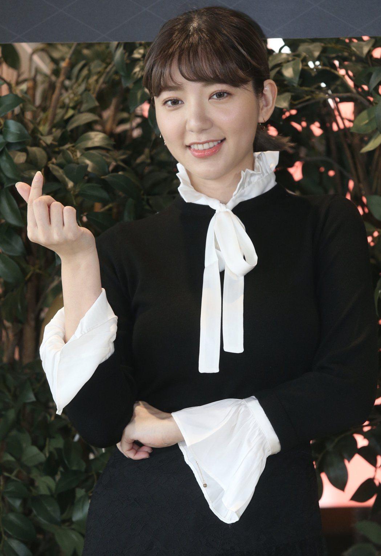 郭雪芙現身為好友打氣。記者林俊良/攝影