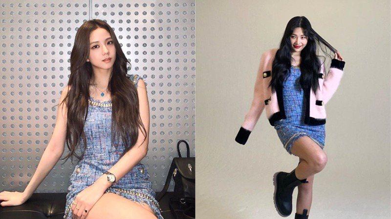 人氣女神齊撞衫!Jisoo、宣美、Joy穿同款Balmain藍色洋裝,展現三人三色時尚美