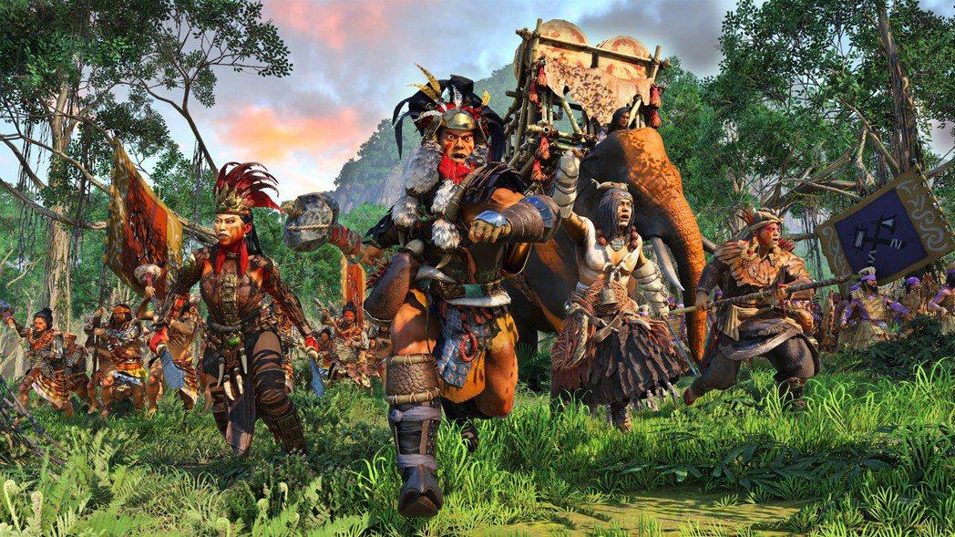 《威震蠻荒》DLC開放玩家選用「孟獲」、「祝融夫人」、「木鹿」、「沙摩柯」等四大...