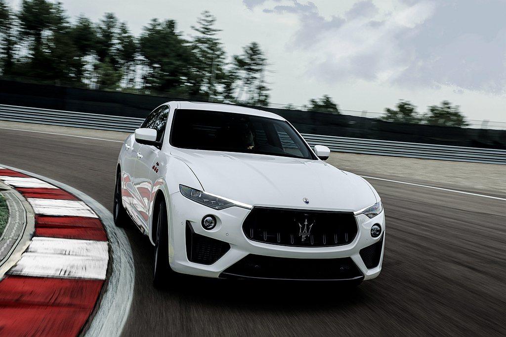 Maserati Levante Trofeo動力依舊維持在590hp馬力,但歐...