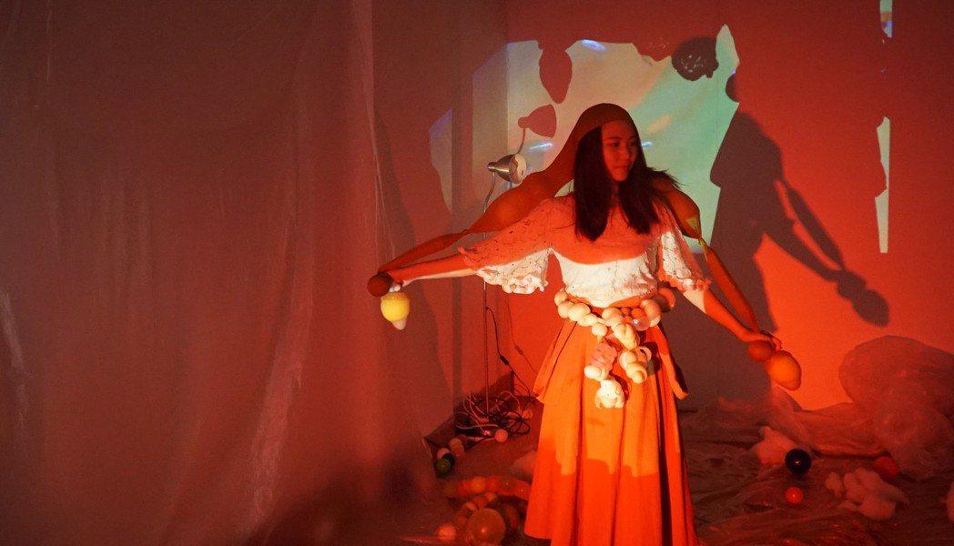 2020卦山力音樂祭未來神服裝秀工作坊。 圖/卦山力藝術祭提供