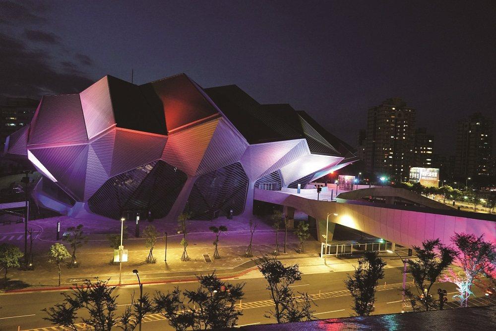可容納5,000人的北流表演廳,無論空間設計或設備皆具國際水準。 圖/台北市工務...