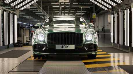 Bentley Flying Spur銷售突破四萬輛 兩大國家就搶走一半數量!