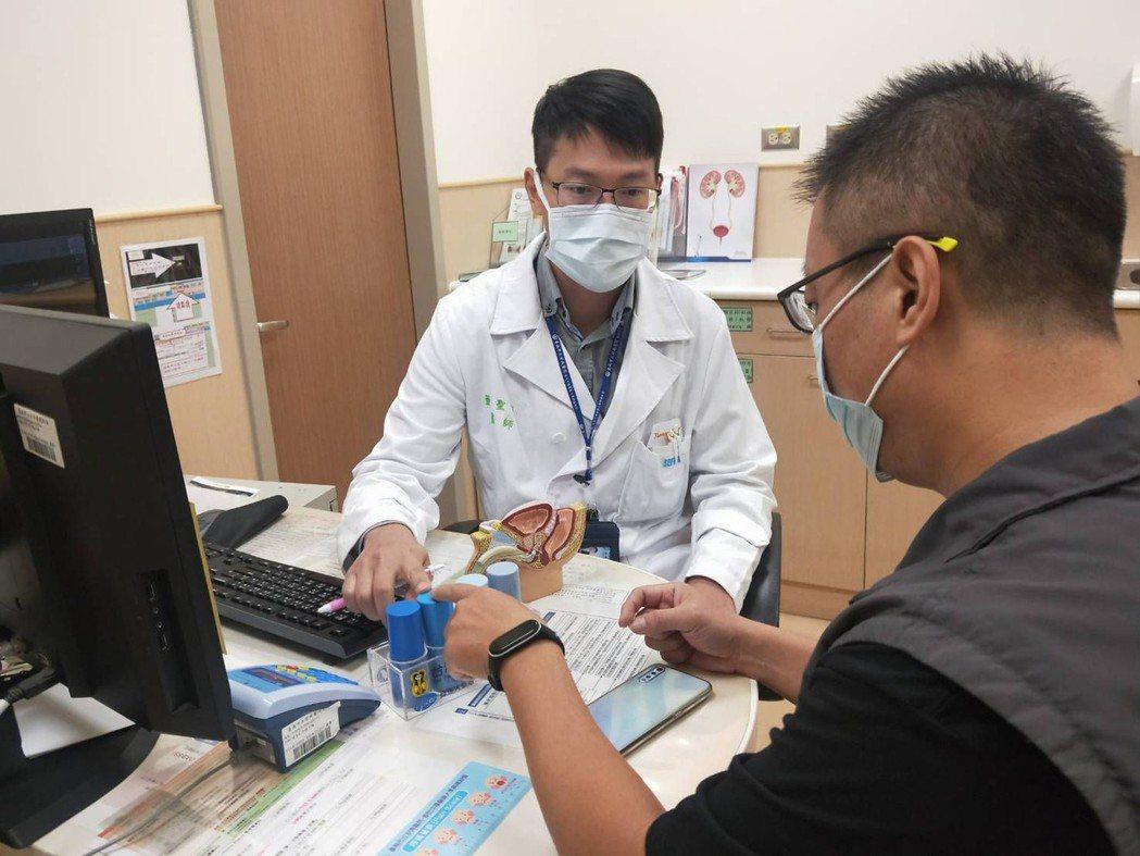 台南市立安南醫院在七夕的深夜接獲陰莖骨折的案例。圖/安南醫院提供