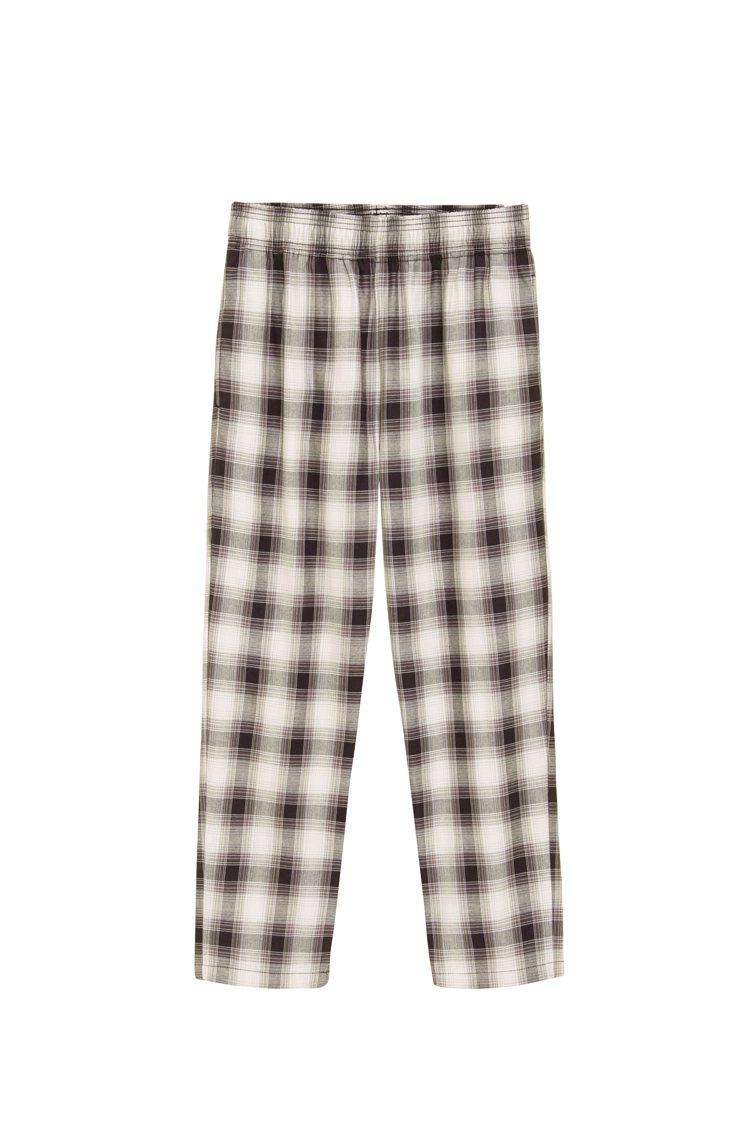 GU男裝格紋主廚褲590元。圖/GU提供