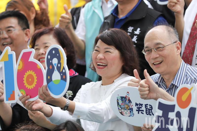 天下雜誌今公布,嘉義市長黃敏惠滿意度高達8成。圖/市府提供