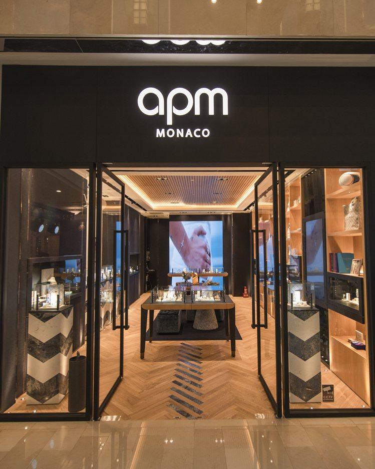 APM Monaco台北101全新概念店重新開幕。圖/APM Monaco提供