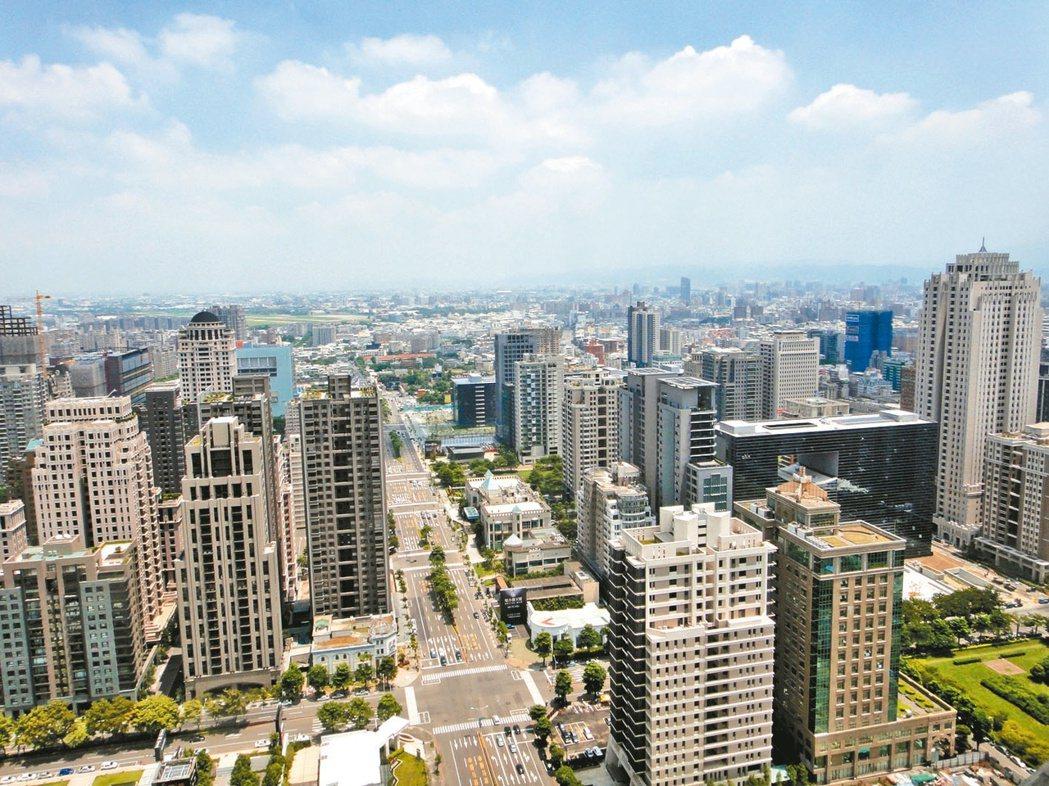 台北市第2季A級商辦租金季漲幅及年漲幅表現,都居亞太地區之冠。(本報系資料庫)