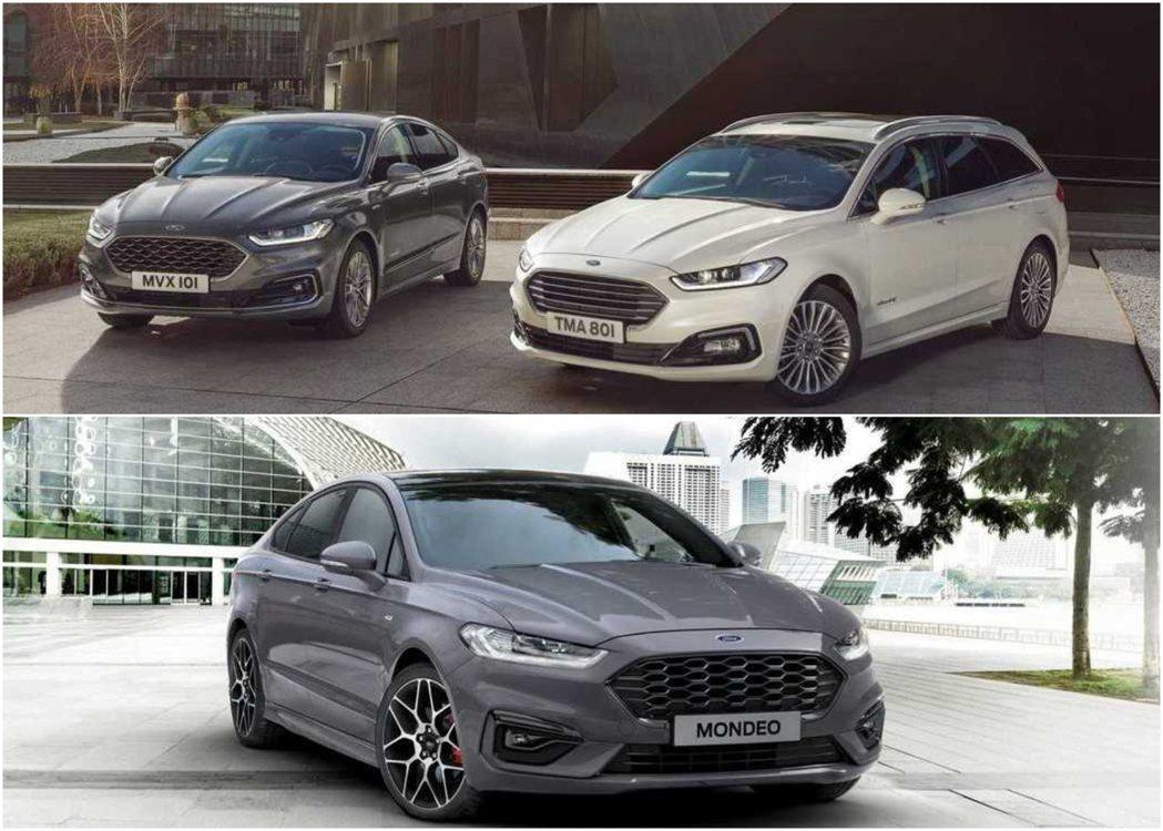 歐規的Mondeo車型選擇較為多元。 摘自Ford