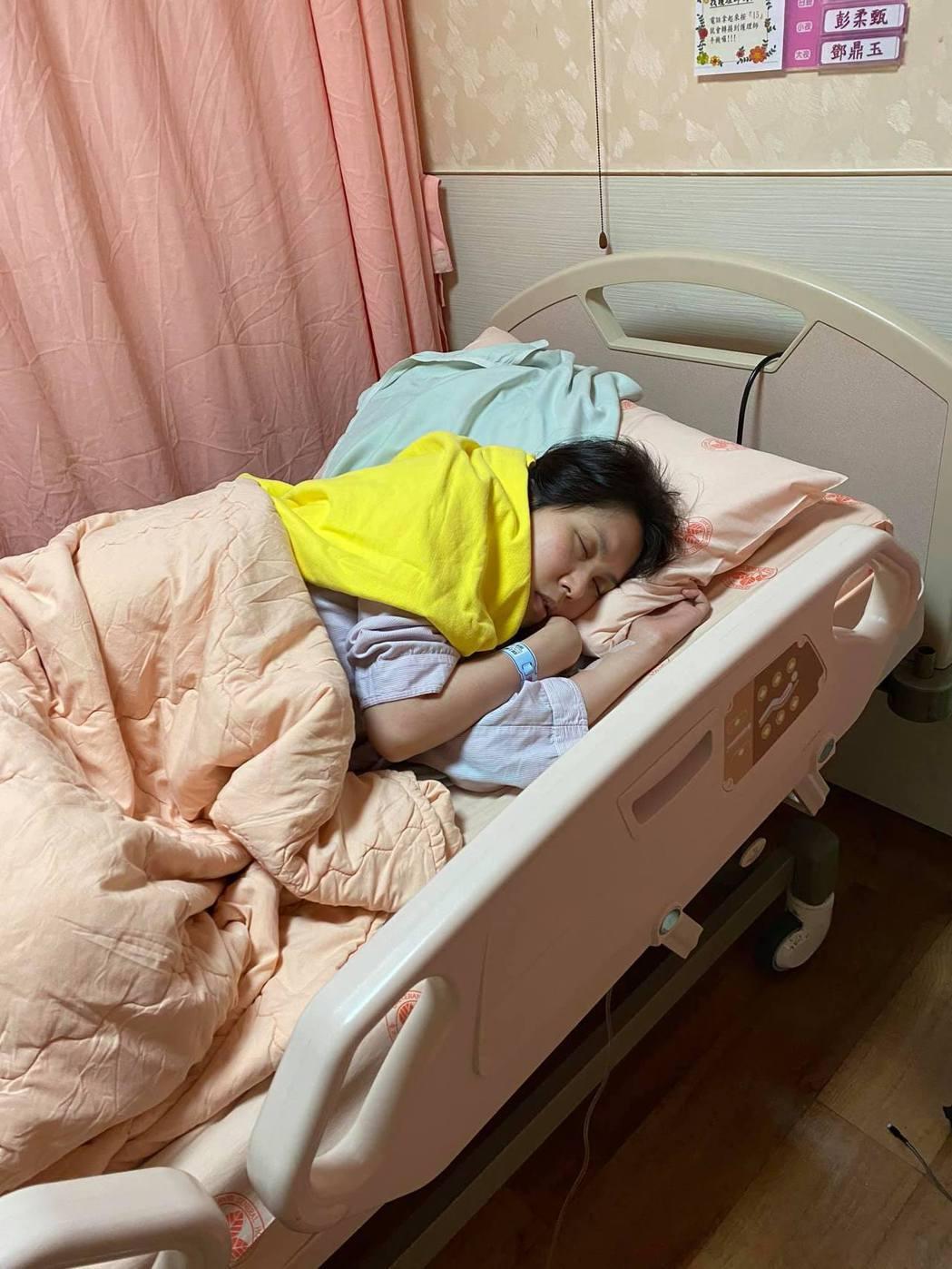 余苑綺抗癌後宣告進行最後一次化療。 圖/擷自余苑綺臉書