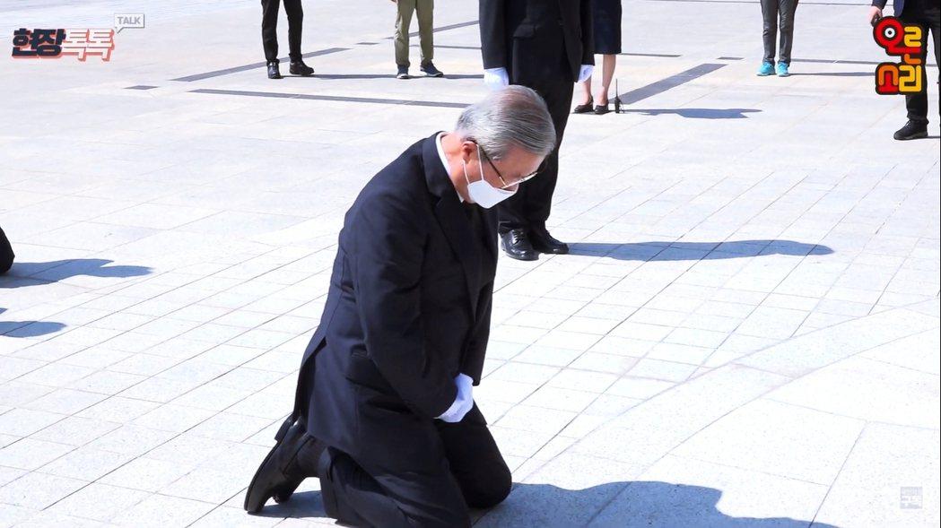 「國民力量黨」的非常對策委員長金鍾仁,過去遊走在保守與進步派陣營之間,也是各派爭...