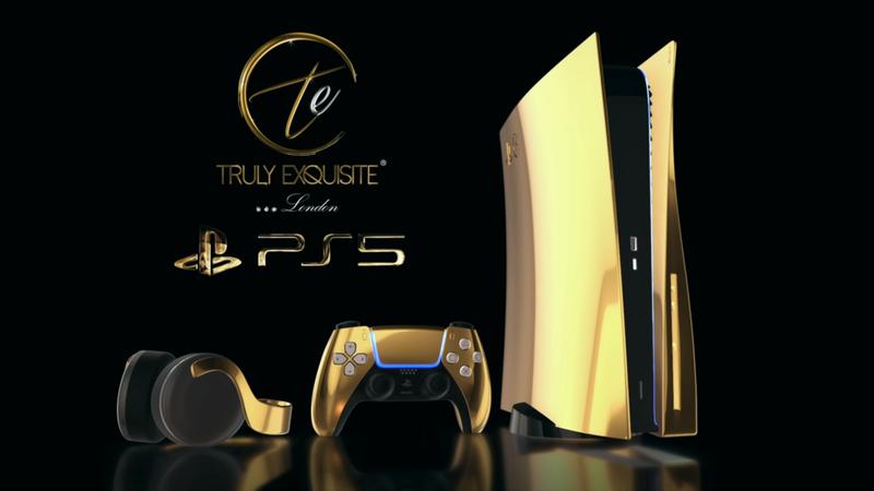 PS5土豪級黃金主機預購本週開跑,最低價要30萬元