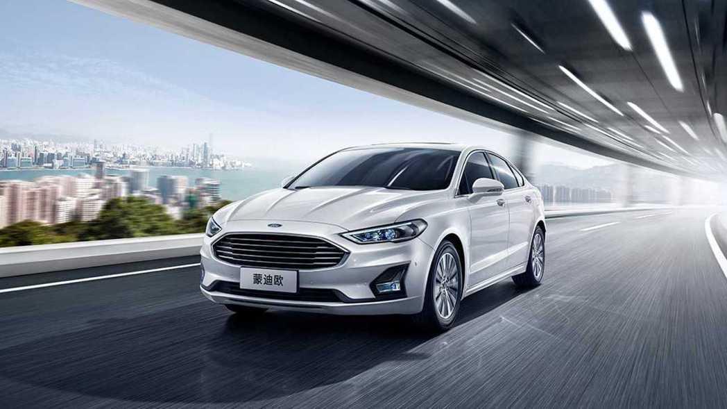 中國福特蒙迪歐(Ford Mondeo)。 摘自長安福特