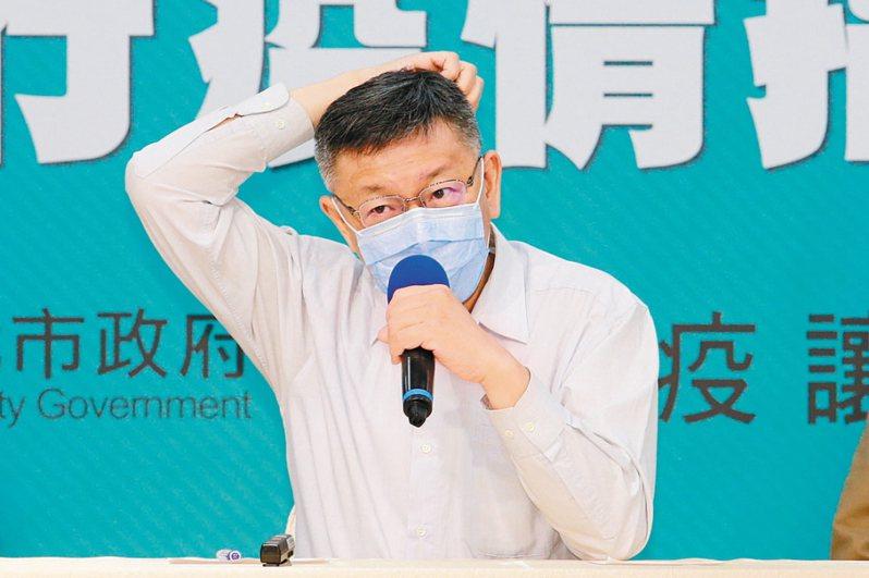 台北市長柯文哲在2017年曾表示,現在已進入無人車時代,政府怎還狂撒6000億軌道建設,跟得上時代?圖/聯合報系資料照