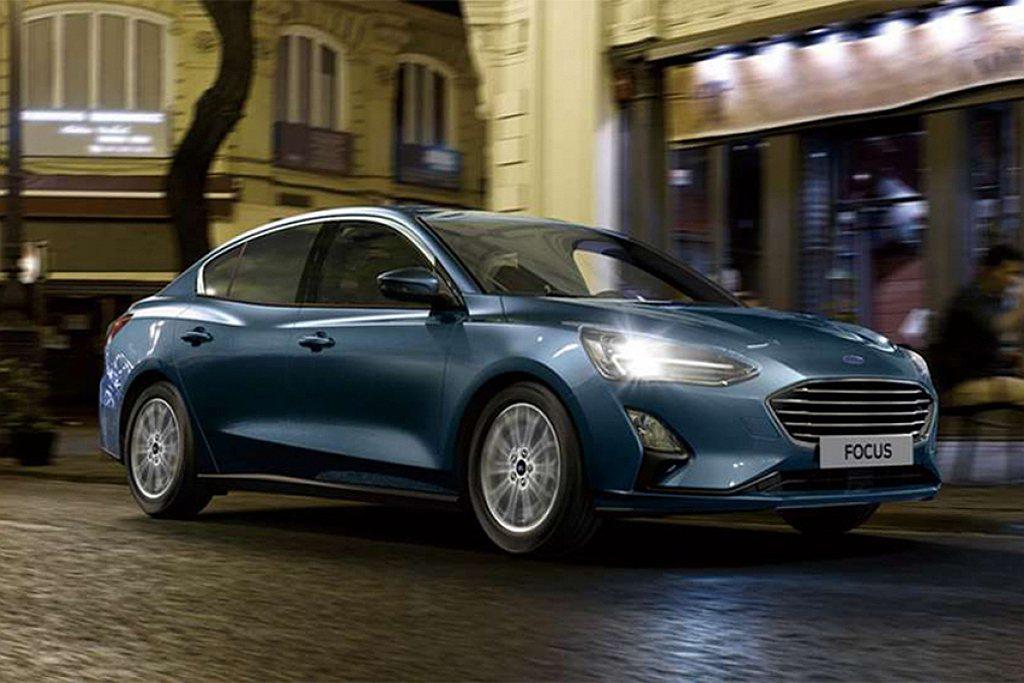 Ford Focus 20.75年式針對原四門17TSR旗艦級車型,升級獨立多連...