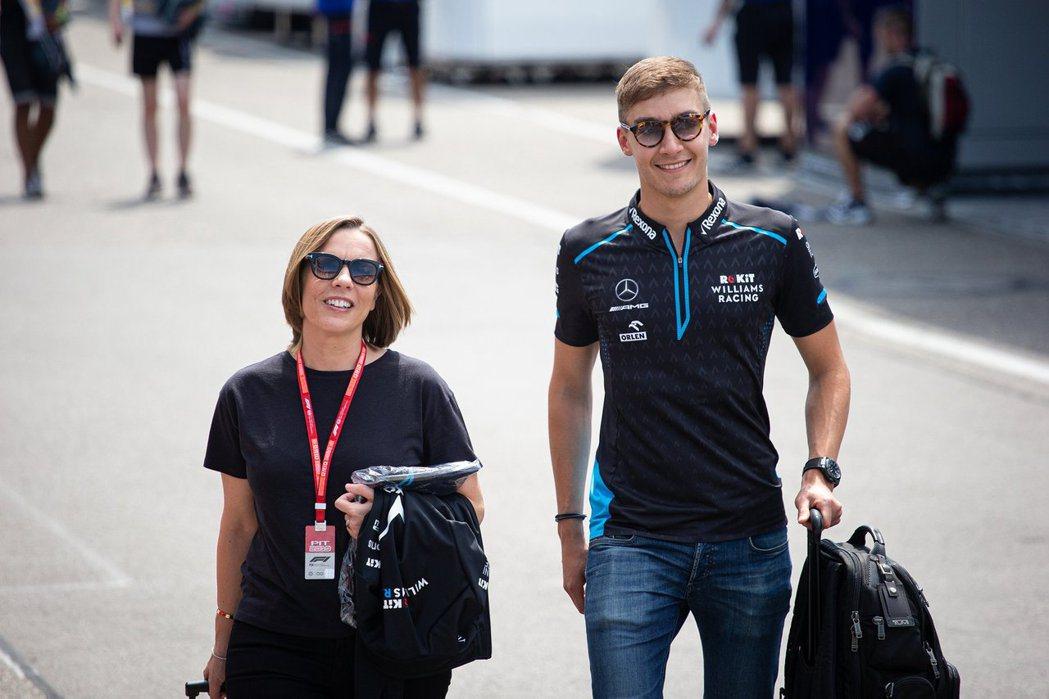 副車隊負責人Claire Williams(圖左)也於上周義大利GP結束後卸下職...